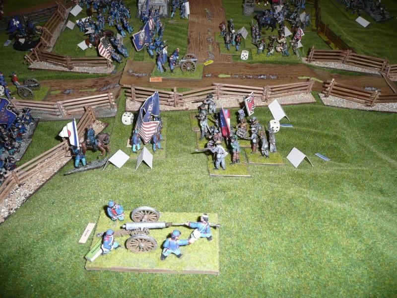 campagne Gettysburg - automne 2011 - 2e combat à Seminary ridge P1050930
