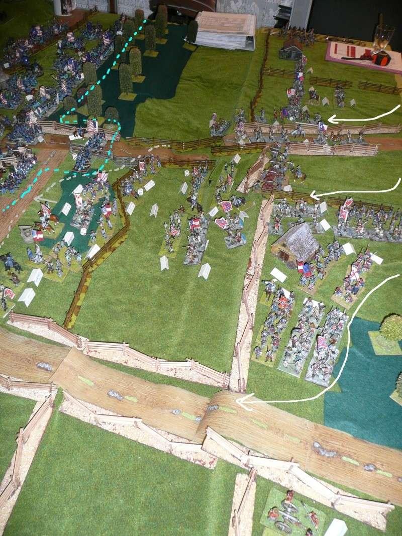 campagne Gettysburg - automne 2011 - 2e combat à Seminary ridge P1050931