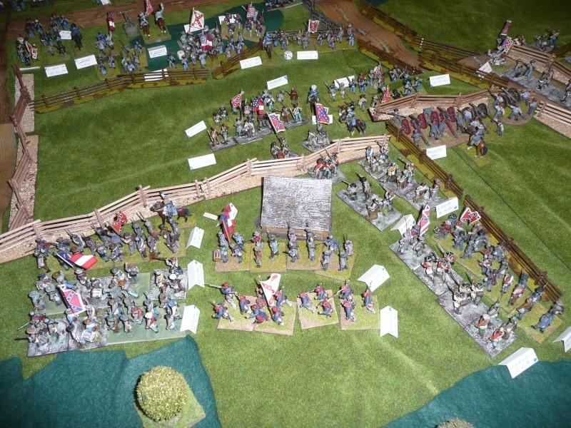 campagne Gettysburg - automne 2011 - 2e combat à Seminary ridge P1050932