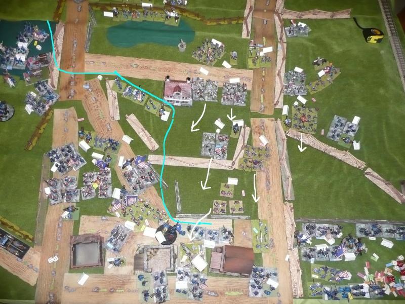 campagne Gettysburg - automne 2011 - 2e combat à Seminary ridge P1050942