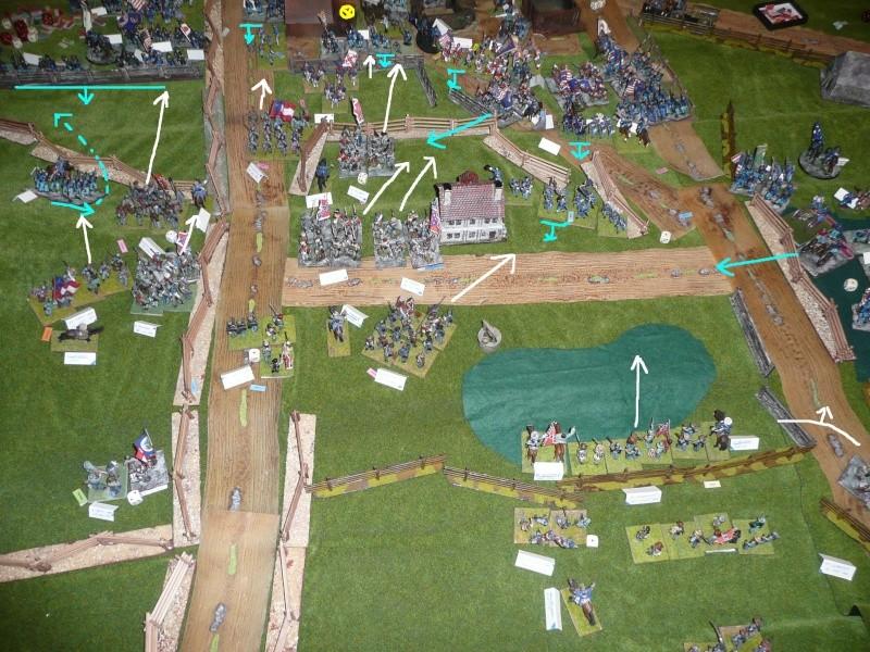 campagne Gettysburg - automne 2011 - 2e combat à Seminary ridge P1050944