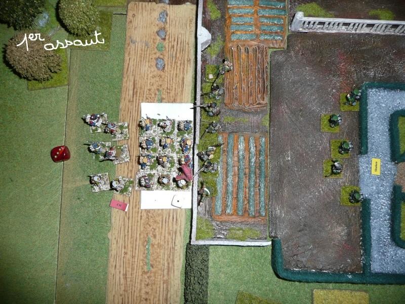 1ers assauts sur Hougomont décembre 2011 P1060135