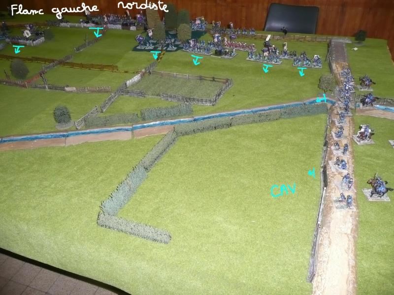 campagne Gettysburg décembre 2011 : assaut sur cemetary ridge P1060143