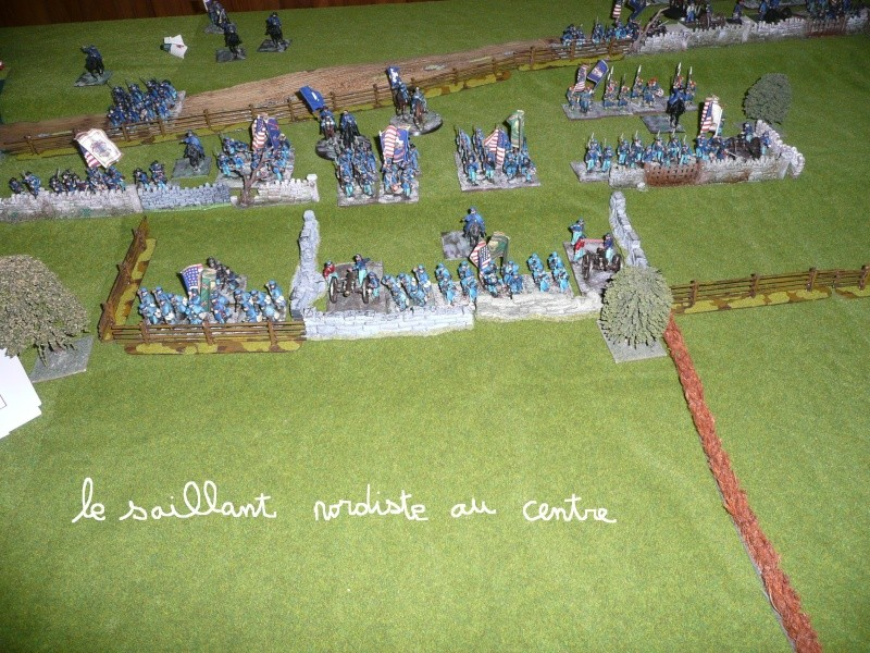 campagne Gettysburg décembre 2011 : assaut sur cemetary ridge P1060144