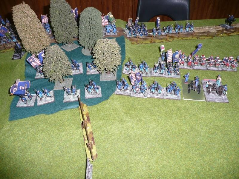 campagne Gettysburg décembre 2011 : assaut sur cemetary ridge P1060146