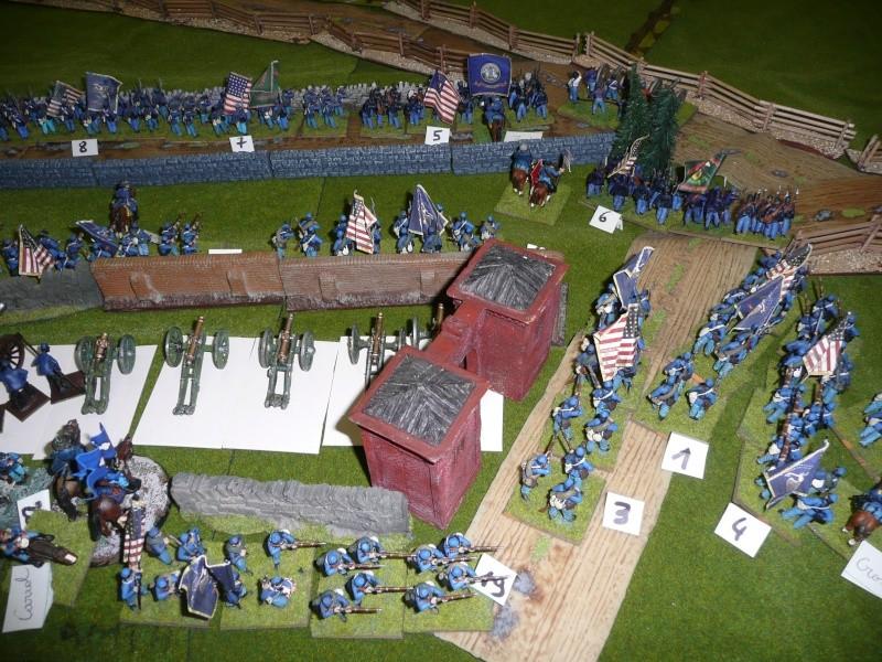 campagne Gettysburg décembre 2011 : assaut sur cemetary ridge P1060147