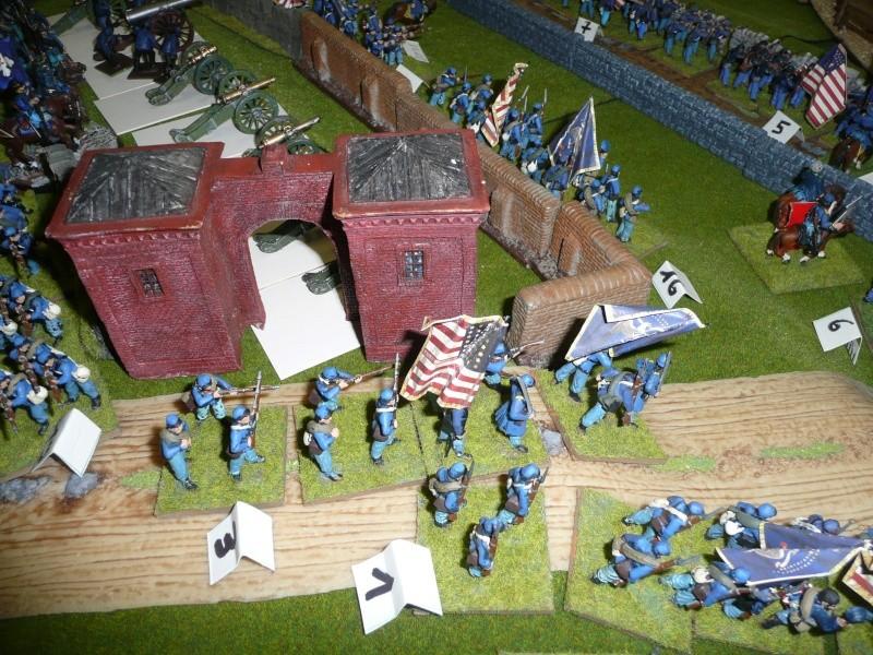 campagne Gettysburg décembre 2011 : assaut sur cemetary ridge P1060148