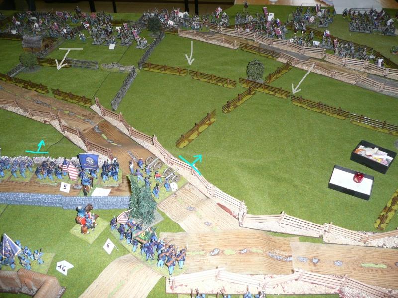 campagne Gettysburg décembre 2011 : assaut sur cemetary ridge P1060149