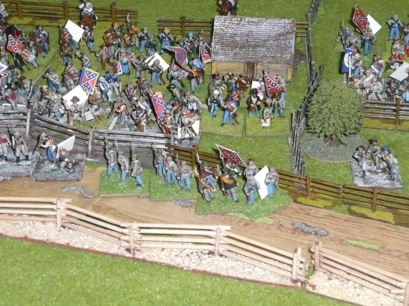campagne Gettysburg décembre 2011 : assaut sur cemetary ridge P1060150