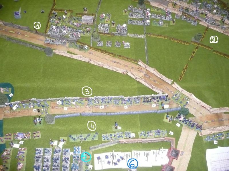 campagne Gettysburg décembre 2011 : assaut sur cemetary ridge P1060151