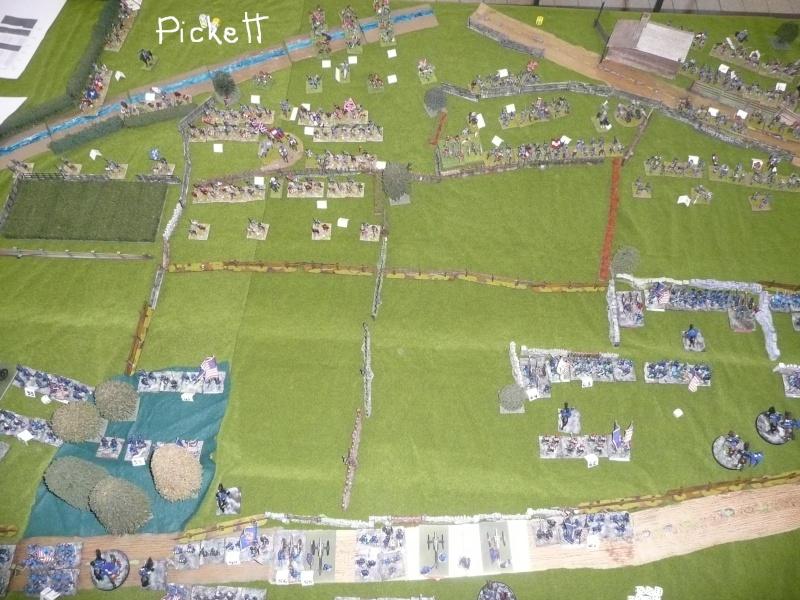 campagne Gettysburg décembre 2011 : assaut sur cemetary ridge P1060152