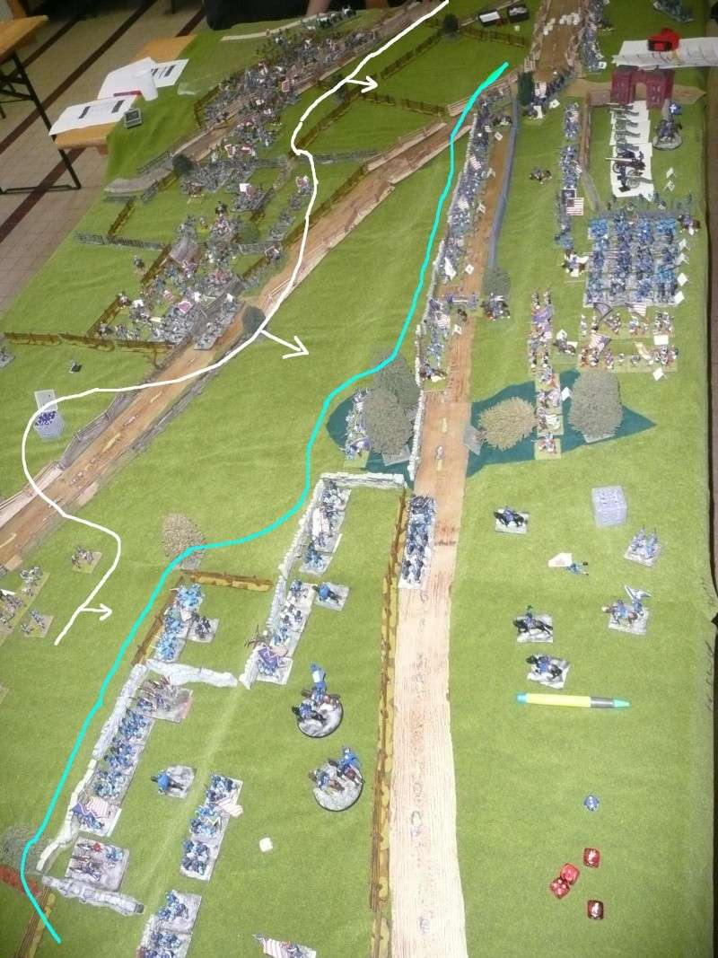 campagne Gettysburg décembre 2011 : assaut sur cemetary ridge P1060153
