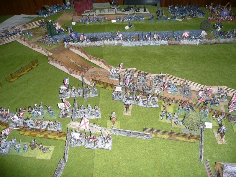 campagne Gettysburg décembre 2011 : assaut sur cemetary ridge P1060154