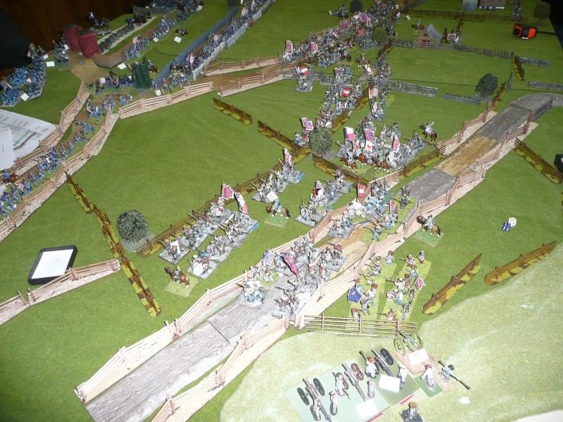 campagne Gettysburg décembre 2011 : assaut sur cemetary ridge P1060155