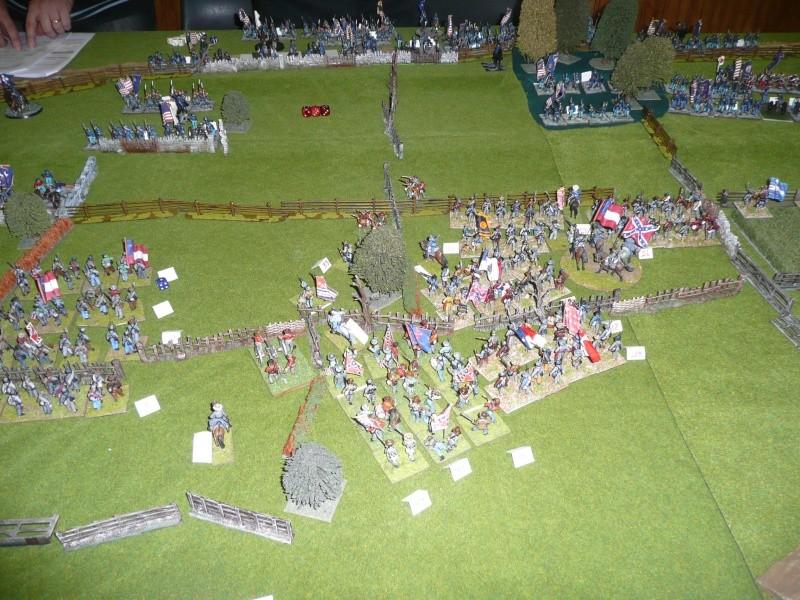 campagne Gettysburg décembre 2011 : assaut sur cemetary ridge P1060156