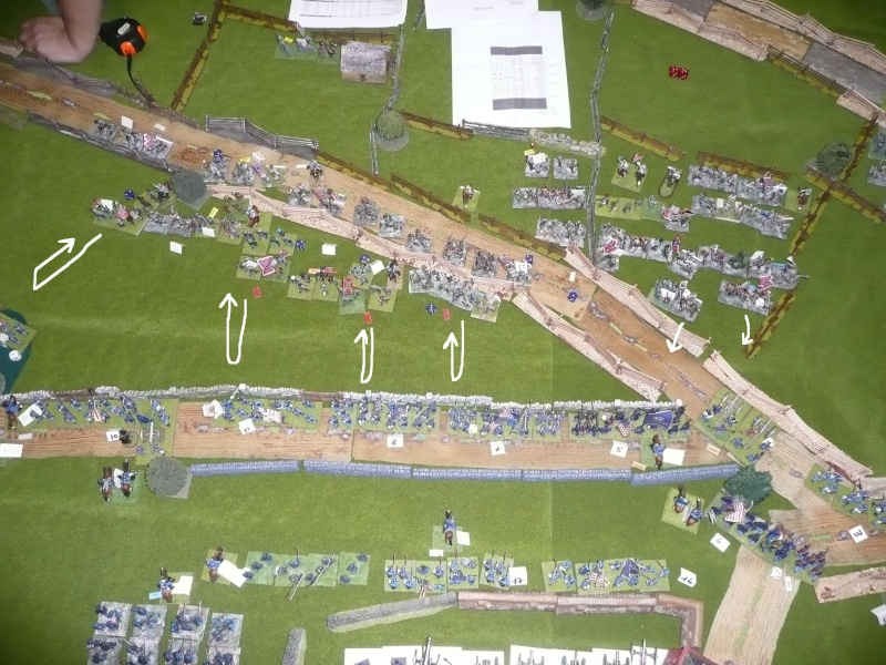 campagne Gettysburg décembre 2011 : assaut sur cemetary ridge P1060157