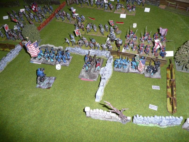 campagne Gettysburg décembre 2011 : assaut sur cemetary ridge P1060158