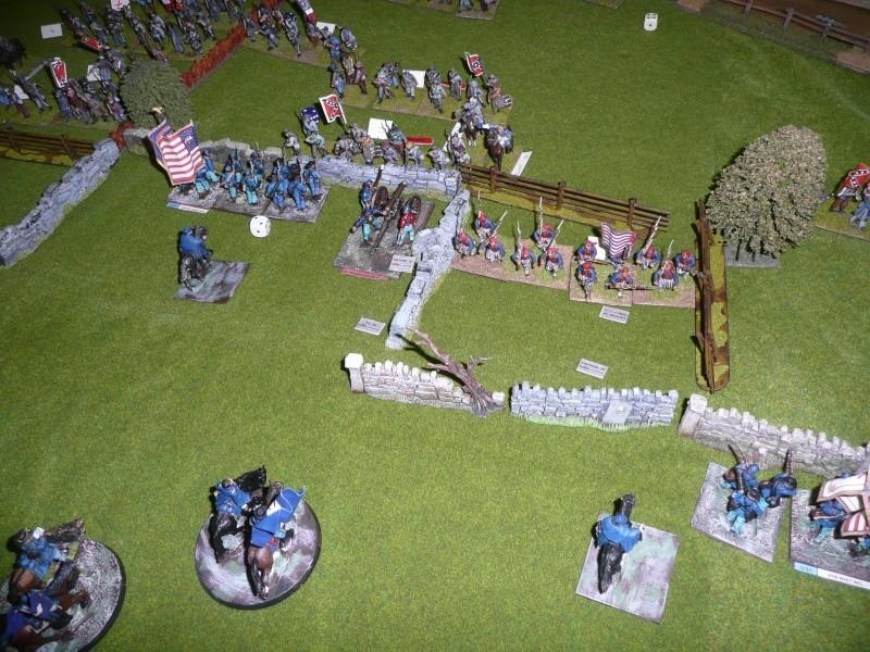 campagne Gettysburg décembre 2011 : assaut sur cemetary ridge P1060159