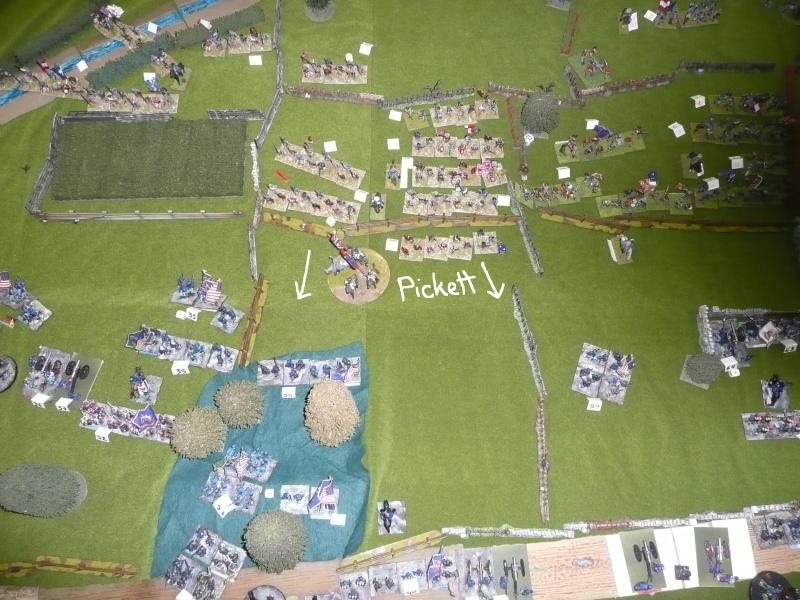 campagne Gettysburg décembre 2011 : assaut sur cemetary ridge P1060160