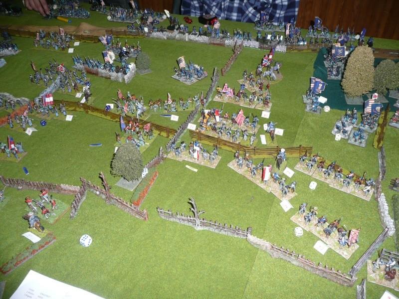 campagne Gettysburg décembre 2011 : assaut sur cemetary ridge P1060161