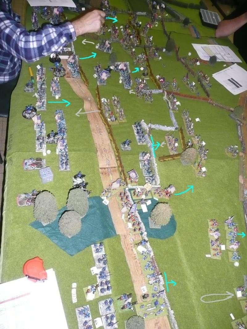campagne Gettysburg décembre 2011 : assaut sur cemetary ridge P1060162