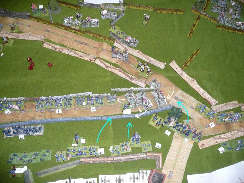 campagne Gettysburg décembre 2011 : assaut sur cemetary ridge P1060163