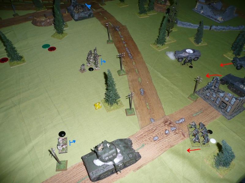 Sur la route de Bastogne, scénario déc 2012 P1070812