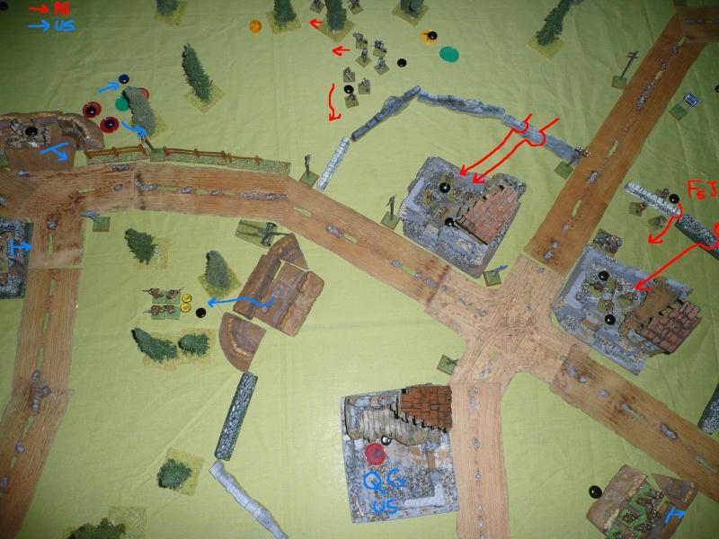 Sur la route de Bastogne, scénario déc 2012 P1070814