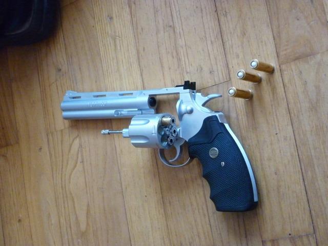 "[KWC] Colt Python 6"" P1000815"
