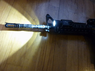 Emerson/Element M300 Flashlight (Surefire X300) - Ancienne version P1010316