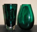 emerald green glass tumbler vase Green_10