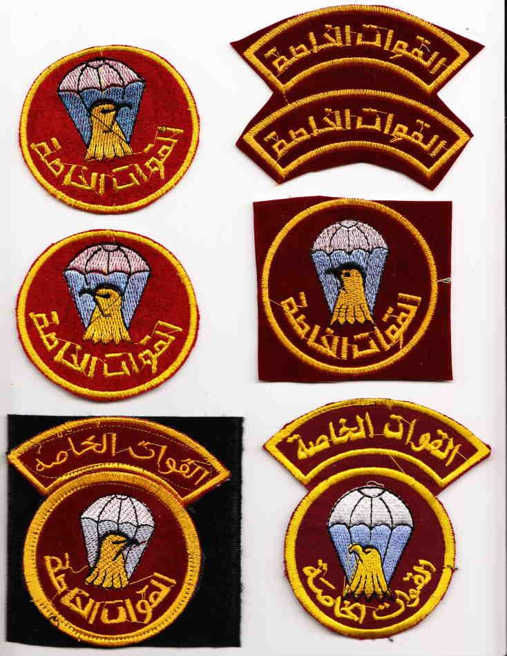 """Airborne"" patches of Iraqi Army Birdhe10"