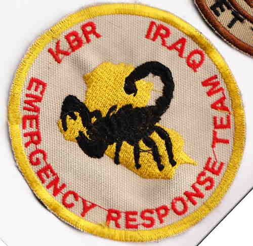 Contractor Patches - Blackwater, Paratus Group, Triple Canopy, and Defense Control Kbrsm10