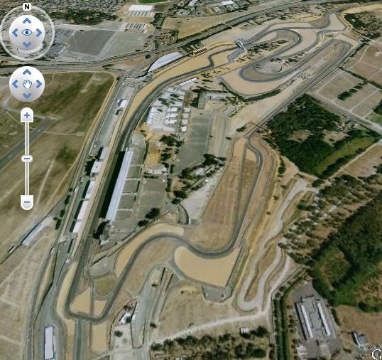 trouver les circuits avec google earth  Lemans10