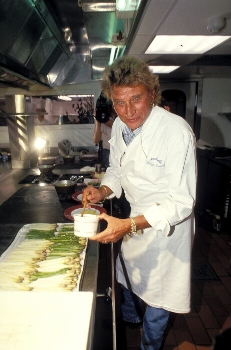 Johnny Hallyday et le grand banquet