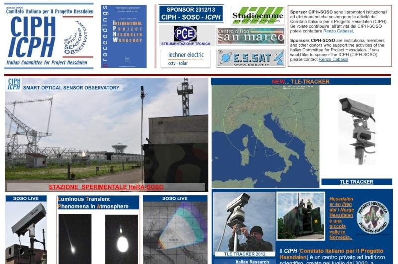 Aggiornato il sito WEB CIPH-SOSO Med10