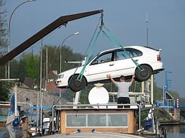 """péniche """"SEMADA"""" Auto110"""