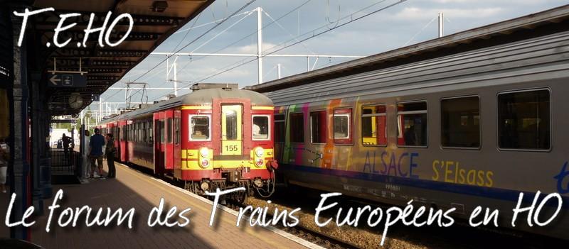 Les trains européens en HO