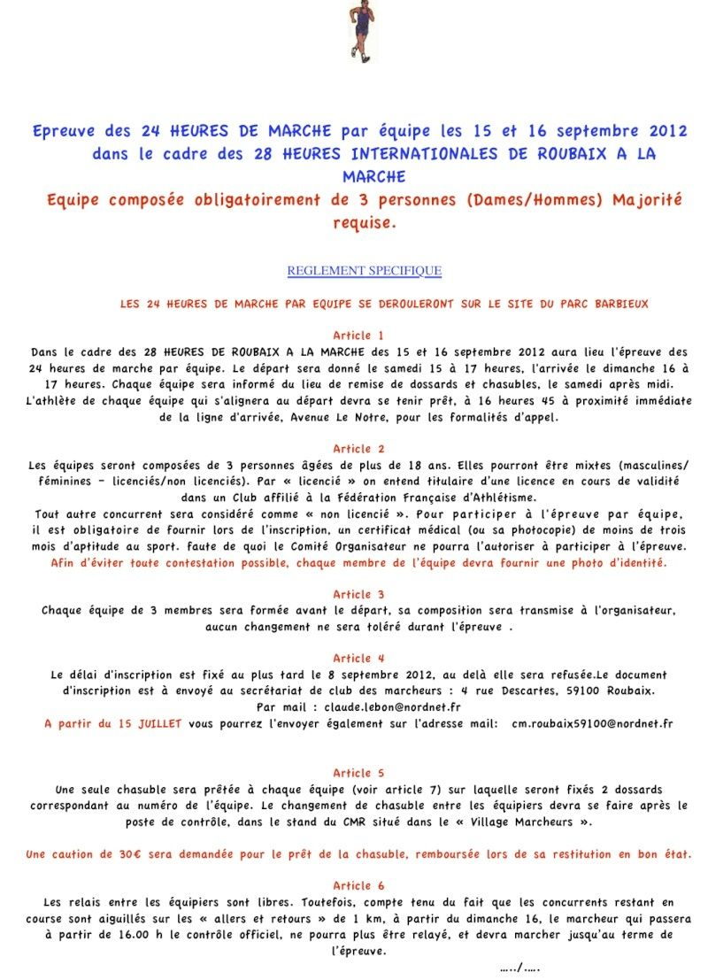 28 heures de Roubaix: 15-16 septembre 2012 617_2410
