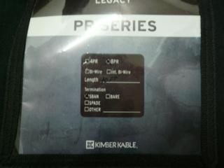 Kimber Kable 8PR Speaker Cables K310