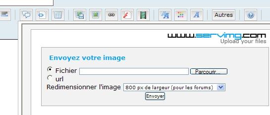 mettre une photo sur le forum ou dans une annonce Screen10