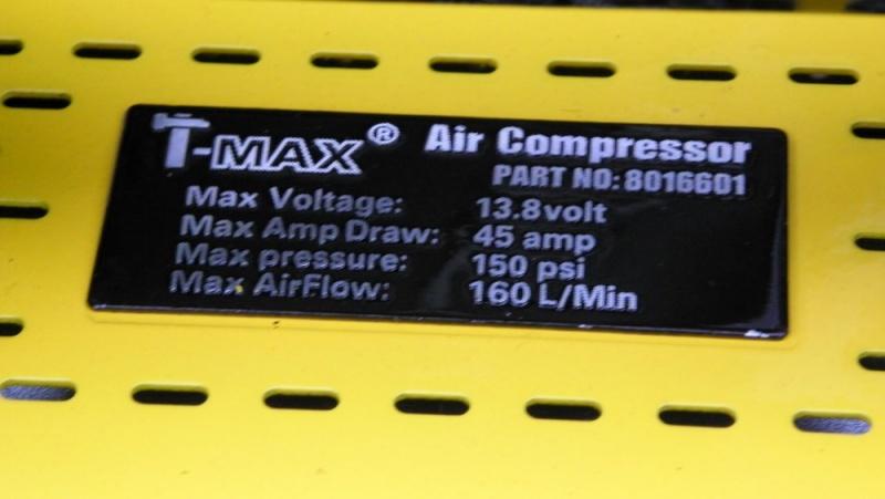 [Gonflage] compresseur T-max 160L 430_0312