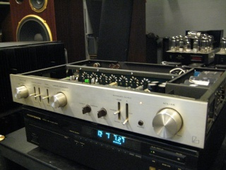 Luxman CL-32 Tube Preamp(used) Img_2045
