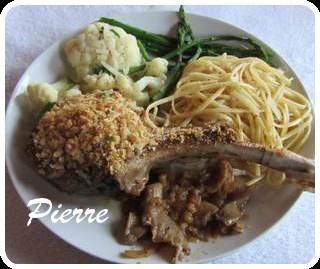 Côte de veau au parmesan Cate_d10