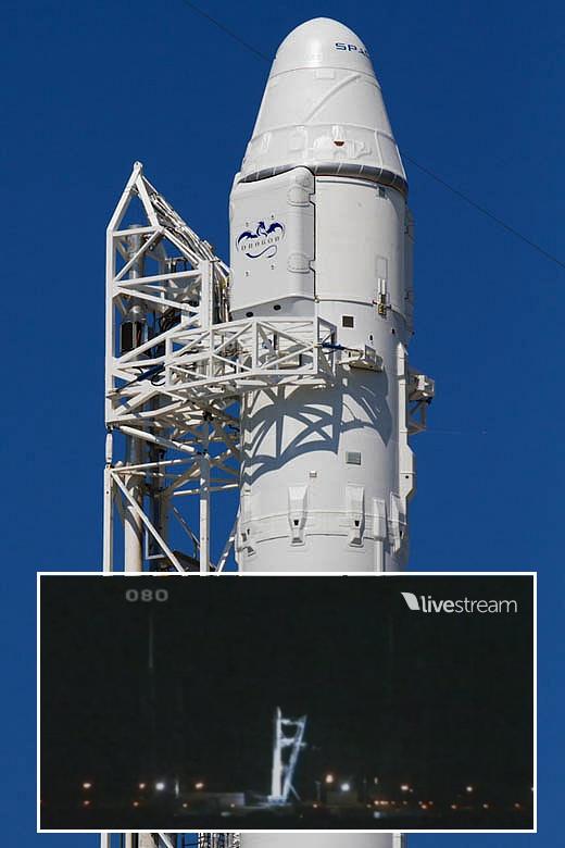 SpaceX / COTS-2: Lancement et suivi de la mission. Sans1012