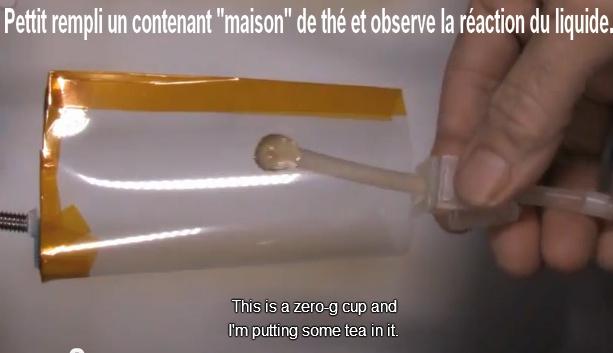 """La « Pettit » Expérience (Le """"space"""" Gobelet). Sans1082"""