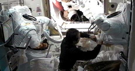 ISS Expédition 32: Déroulement de la mission. Sans1097