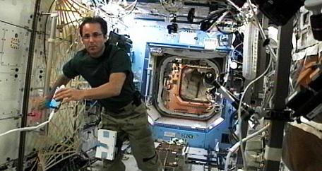 ISS Expédition 32: Déroulement de la mission. Sans1098