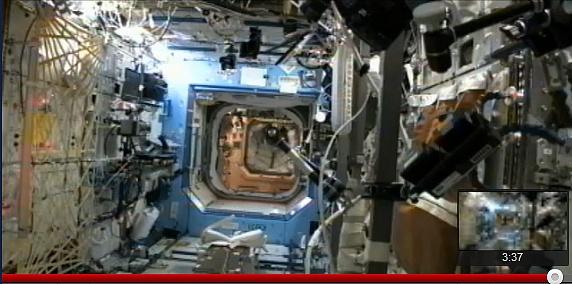 ISS Expédition 32: Déroulement de la mission. Sans1100