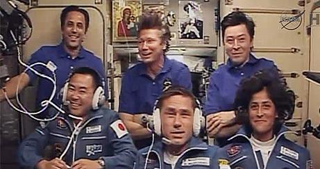 ISS Expédition 32: Déroulement de la mission. Sans1133
